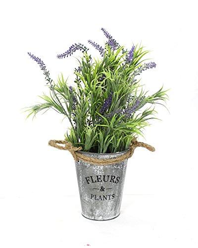Kunstpflanze Lavendel mit Topf