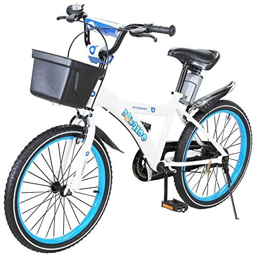 Actionbikes Kinderfahrrad Donaldo - 20 Zoll - V-Break Bremse vorne - Seitenständer - Luftbereifung - Ab 2-9 Jahren - Jungen & Mädchen - Kinder Fahrrad - Kinderrad (Donaldo 20 Zoll)