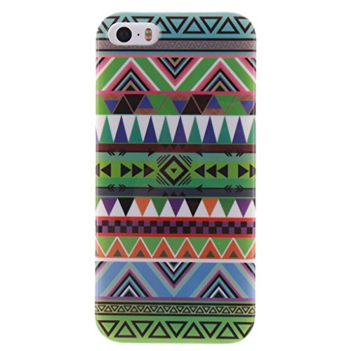 iPhone 6 / 6S Hülle, Hamyi Weiches TPU SchutzhülleSlim Fit für iPhone 6 und iPhone 6S (4,7 Zoll) (Sexy Girl) Grüne Stammes- Azteke