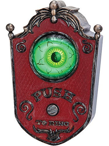 ball Doorbell - Haunted House Halloween Party Prop by Gemmy ()