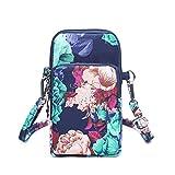 Cartoon Nylon Messenger kleine Umhängetaschen Telefon Mini Geldbeutel und Handtaschen Mädchen Crossbody Taschen