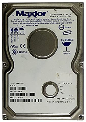 Maxtor ID11839 DiamondMax Plus 9 Disque dur interne ATA/133 IDE