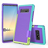 Funda Galaxy Note 8, HanLuckyStars TPU Fundas Carcasa para Samsung Galaxy Note 8 Case con [U...