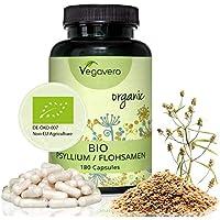 Psyllium Orgánico Vegavero | LA DOSIS MÁS ALTA: 3000 mg | Laxante Natural | Fibra