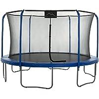 SKYTRIC Trampolín Cama Elástica 4.0 m - Sistema Recinto Anillo Superior.Función Ensamblaje Fácil