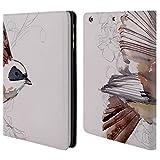 Head Case Designs Offizielle Mai Autumn Let It Be Voegel Brieftasche Handyhülle aus Leder für iPad Mini 1 / Mini 2 / Mini 3