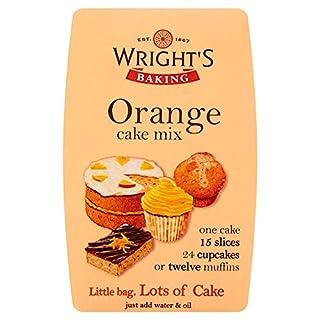 Wright's Baking Orange Cake Mix, 500 g