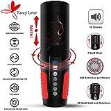 Automatischer Masturbator Cup 7 Teleskopischer 7 Rotations 5 Geschwindigkeits 10 Sexy Stimme Mund Vagina Erotik Sex Spielzeug für Masturbieren Männer Von Fancy Lover