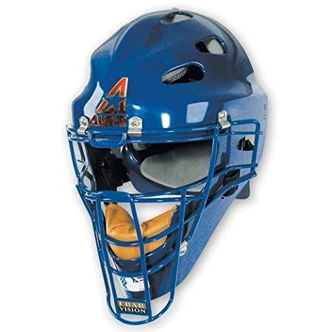 All-Star MVP2310 Youth Hockey Style Catchers Mask Color: Black by TACVPI