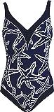 Red Point Beachwear, mujer, Bañador, Reductor aros, Elia, Talla ESP: 42, copa C, blanco/azul marino