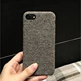 Best Cases Different Phones - Go Hooked Jmm Grey Woolen Fabric Texture Designer Review