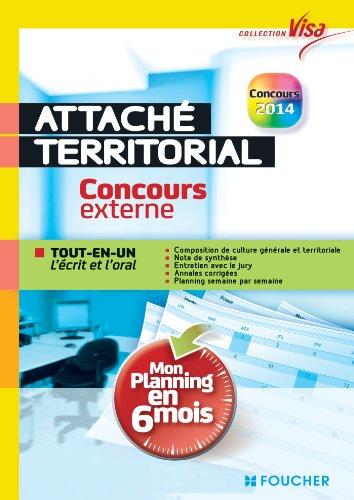 Visa - Attach territorial - Concours externe - Mon planning en 6 mois