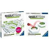 GraviTrax 27614 Tunnel Spielzeug, bunt &  27613 Trampolin Spielzeug, bunt