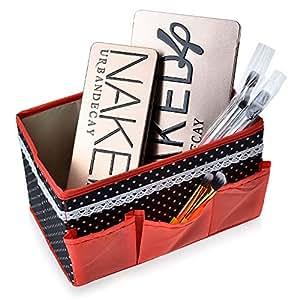 vivreal® Boîte Rangement Organisateur DIY Stockage Stylo Crayon Cosmétique Cartes Bureau