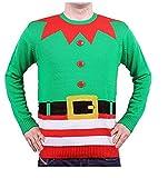 Weihnachtspullover Elfe