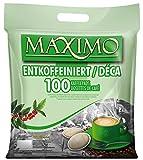 MAXIMO 100 Kaffeepads Entkoffeiniert