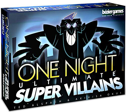 Bezier Games One Night Ultimate Super Villains BEZ00031 Multi-Coloured