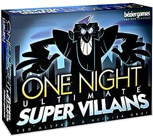Bezier Games BEZ00031 One Night Ultimate Super Villains - Juego de Mesa (Contenido en alemán)