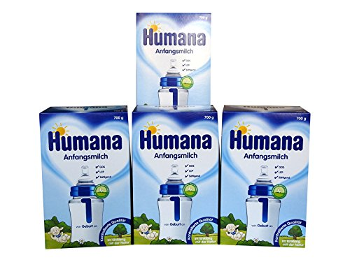 Humana Anfangsmilch 1 LCP+GOS 4x700g