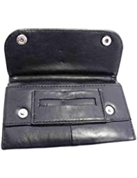 NEW VERY SOFT SHEEP NAPPA LEATHER TOBACCO POUCH WALLET HOLDER 1198