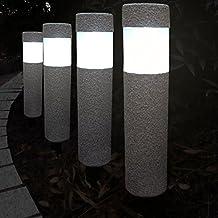 Garten Solarleuchten suchergebnis auf amazon de für solarleuchten steinoptik