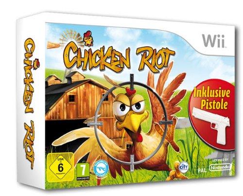 Chicken Riot - Die wilde Hühnerjagd (Bundle inkl. Pistole) (Wild Guns)