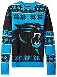 Klew NFL Big Logo Pullover, unisex, Carolina Panthers