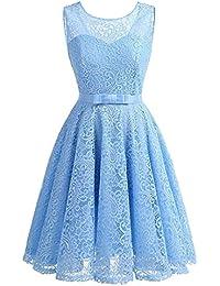 Kleid hell blau