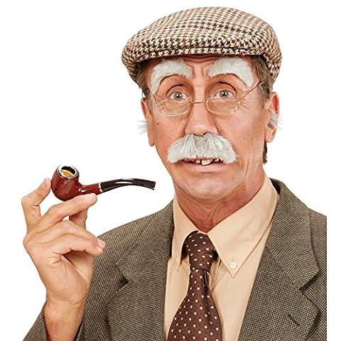 Augenbrauen Schnurrbart Opa Set Bad Taste Party Schnauzer Maskerierung Augen