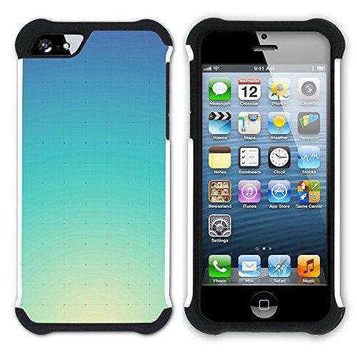 Graphic4You Tier FUR DESIGN Muster Hart + Weiche Kratzfeste Hülle Case Schale Tasche Schutzhülle für Apple iPhone SE / 5 / 5S Design #10
