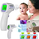 #7: Tuzech Joylife Digital Infrared Multipurpose Thermometer - No Need To Touch-Wireless