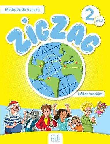 Zigzag 2 - Niveau A1.2 - Livre + CD