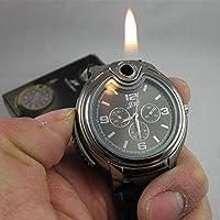 1Pc Military Novelty Man Quartz Sports Men Watche Silicone Lighter