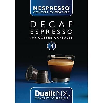 Dualit NX Capsules Decaf Espresso Decaf Espresso. Pack quantity: 120