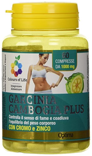 Colours Of Life Garcinia Cambogia Plus, 60 Compresse 1000 Mg