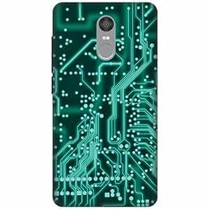 Xiaomi Redmi note 4 Silicon Back Cover - Multicolor Designer Cases Cover By Printland