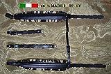 Paire de bretelles courroies sangles d\'accordéon 8 CM 100% Fabriquées en Italie DELUXE