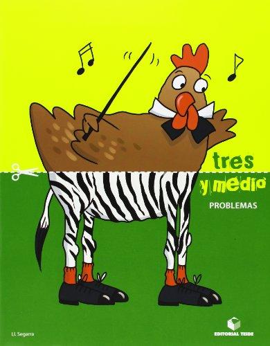 Tres y medio - Cuaderno de problemas - 9788430709687 por Lluis Josep Segarra Neira