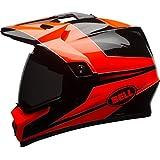 Bell Cascos MX 2017MX-9Adventure MIPS casco de adulto, Stryker Flo naranja, tamaño mediano
