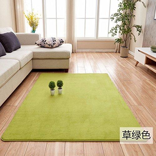 Home coral Fleece minimalistischen Wohnzimmer Tisch matte Tatami Matten Bett und Teppich laden voller, 1.2* 2.0, Gras - Badezimmer Gras-teppich