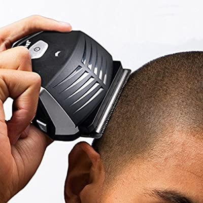 iXpro Professional Hair Clipper for Men Li-ion Battery Power Lasting Rechargeable Sharp Carbon Steel Blade Hair Cut (100-240V)