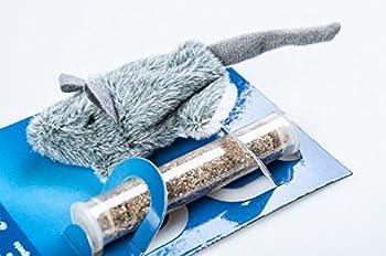 Trixie Herbe à Chat Souris rechargeable, 8cm
