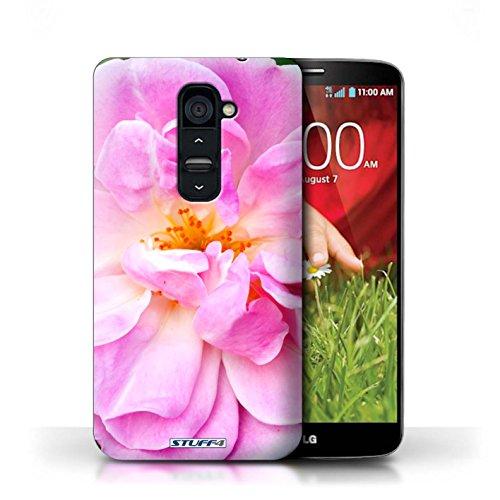 Kobalt® Imprimé Etui / Coque pour LG G2 / Tournesols conception / Série floral Fleurs Portulaca