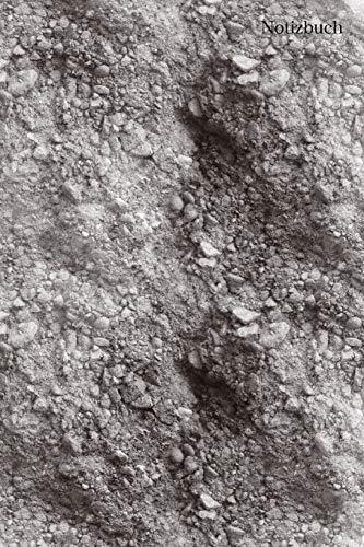 Notizbuch: Notizbuch Sand, Mondlandschaft, Tagebuch, Bulletjournal mit Soft Cover mit 100 kariert cremefarbene Seiten, DinA5, 6x9 Achtsamkeit, Urlaub, Erinnerungen -