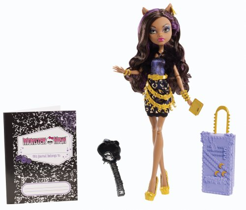 MONSTER HIGH Série *SCARIS Deluxe* City Of Frights ASST.Y0376 Poupée Doll Y0379 CLAWDEEN WOLF