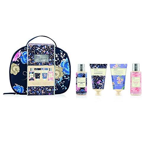 Baylis & Harding Royale Bouquet Midnight Vanity Lux Set, 1er Pack (1 x 5 Stück) - Floral Bath Vanity
