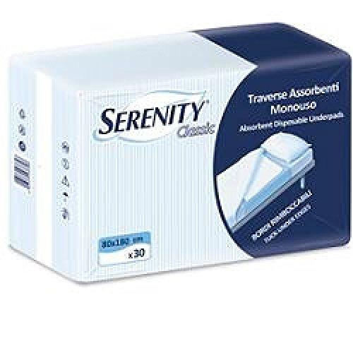 traversa serenity classic misura xl 80 x 180 1 confezione 30 pezzi