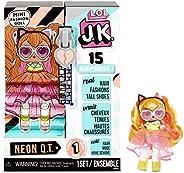 L.O.L. Surprise J.K. Doll-Neon Q.T. Mini Fashion Doll with 15 Surprises