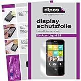 dipos I 2X Schutzfolie klar passend für Acer Liquid Z4 Folie Displayschutzfolie