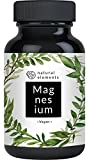 Magnesiumcitrat - 750 mg pro Kapsel - 180 vegane Kapseln - Laborgeprüft - Premium Magnesium ohne Zusatzstoffe wie Magnesiumstearat oder Gelatine - Hochdosiert und hergestellt in Deutschland